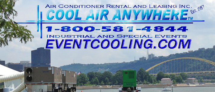 Wedding Event Cooling Service