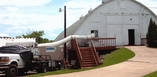 Mobile Airconditioning Service Wedding Barn