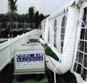 Portable Airconditioning for Tent Event & SPECIAL EVENT COOLING SERVICES- Air Conditioner Rental and Leasing ...