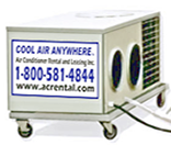 AC Rental 5 ton portable airconditioner